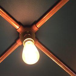 Conduit lighting – Brass – Copper – Antique Brass