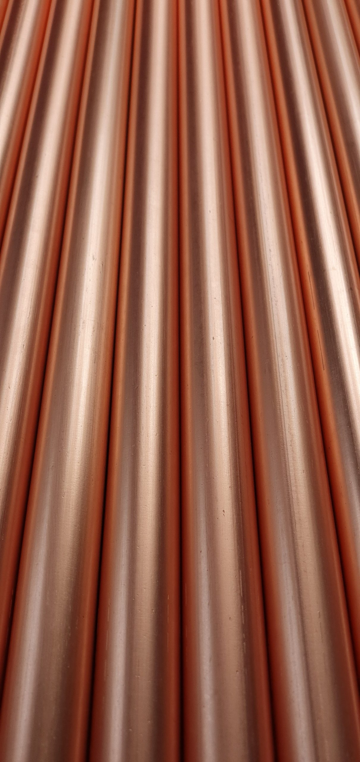 Copper conduit lighting