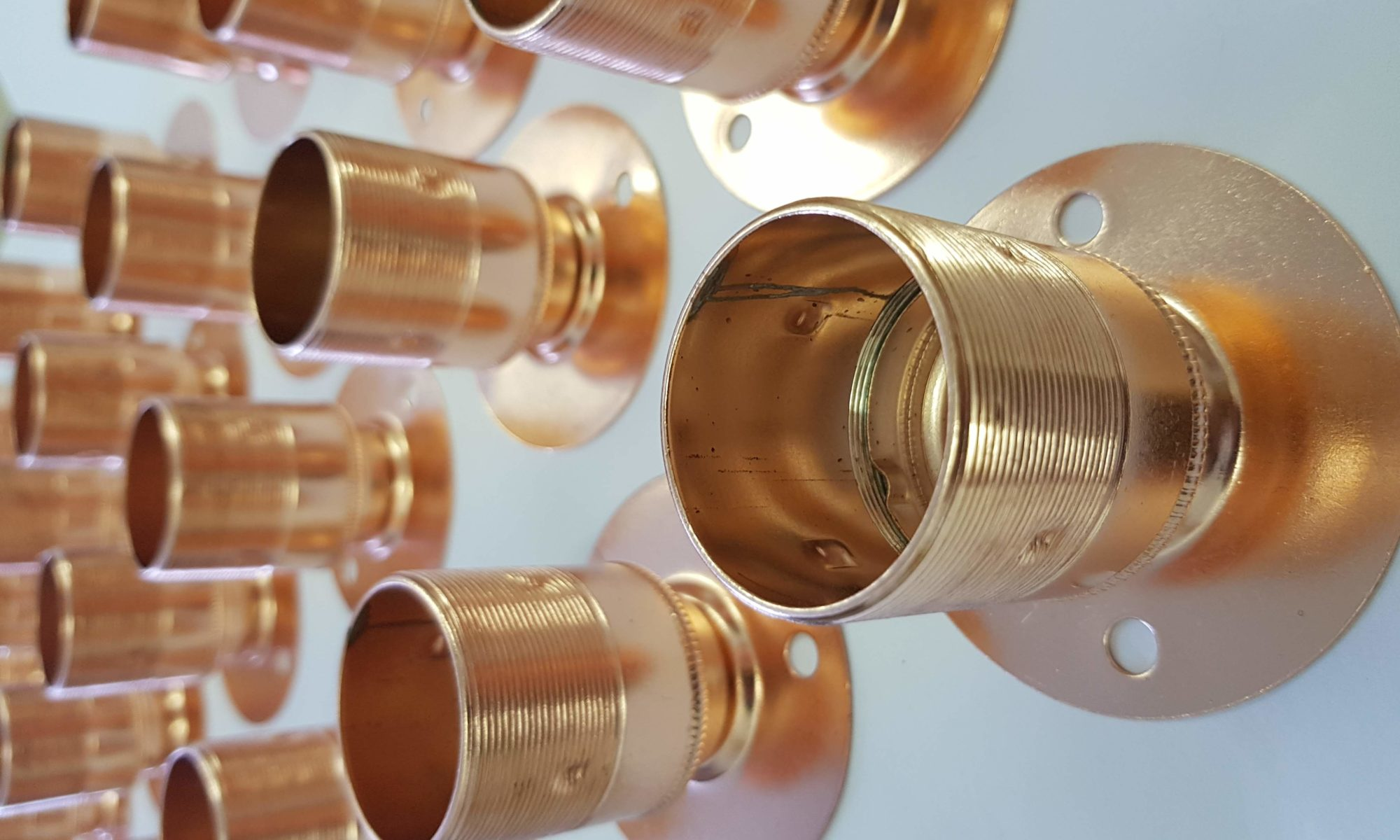 Conduit lighting - Copper conduit | Antique Brass Conduit | Conduit Accessories