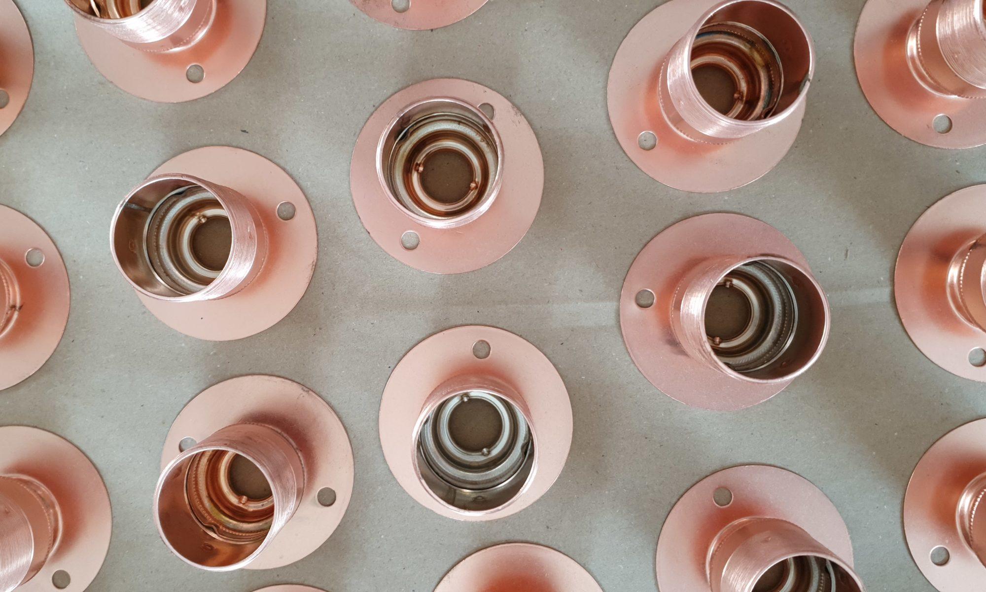 Conduit lighting - Brass - Copper - Antique Brass