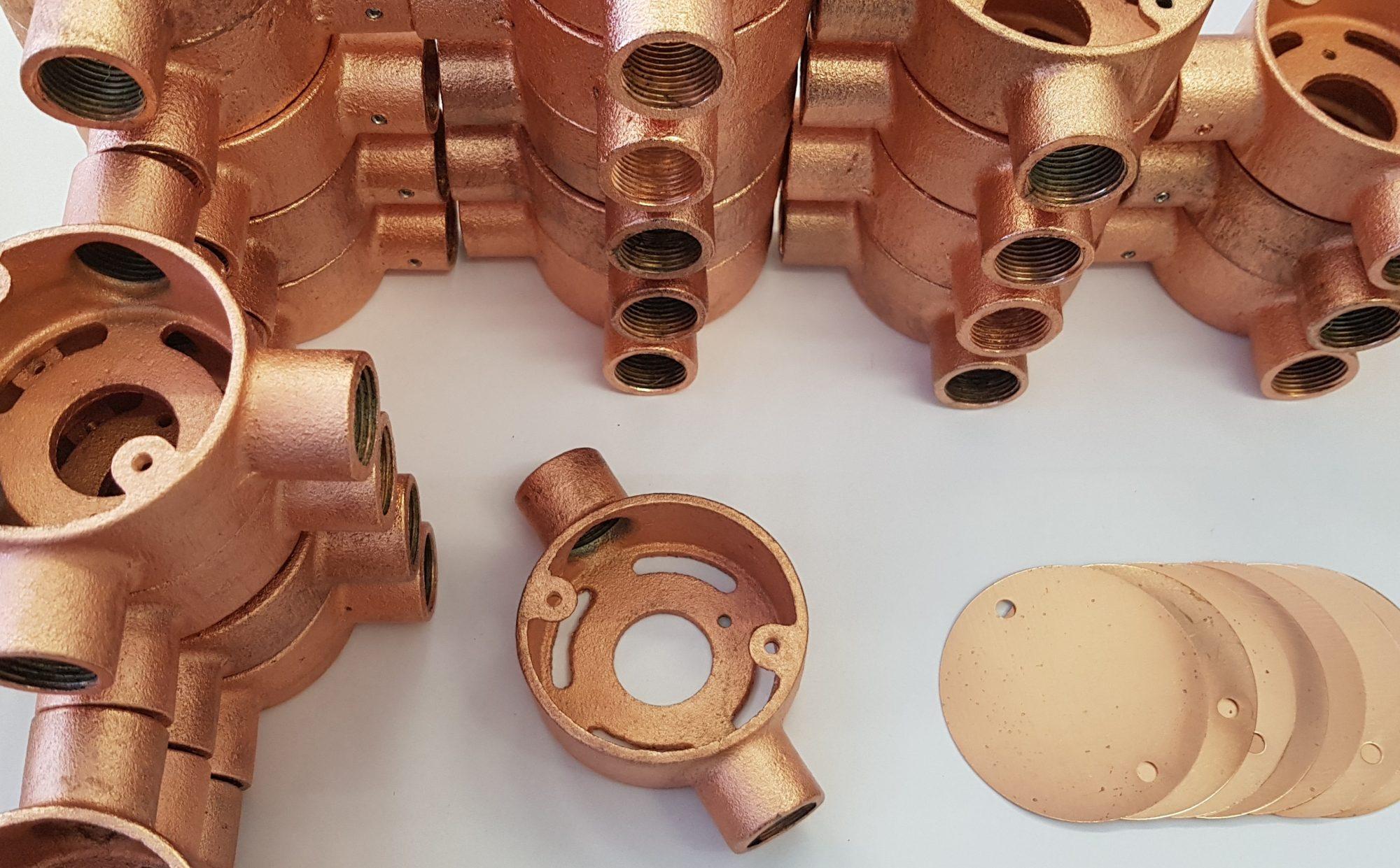 Conduit lighting - Copper conduit